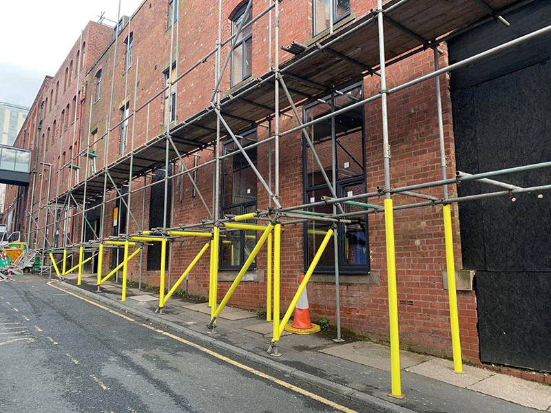 Commercial Scaffolding, Liverpool. Highline Scaffolding